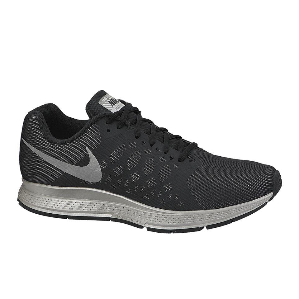 ca2c7271ae09 Nike Men s Zoom Pegasus 31 Flash Neutral Running Shoes - Black Reflective  Silver. Description