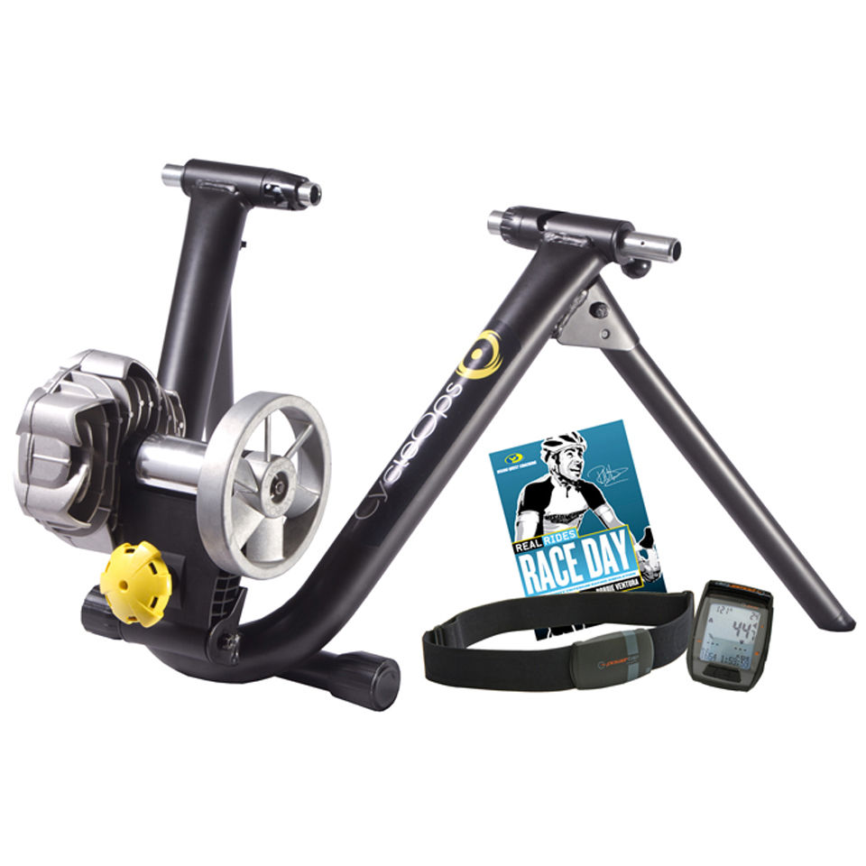 CycleOps Fluid 2 Power Turbo Trainer Bundle