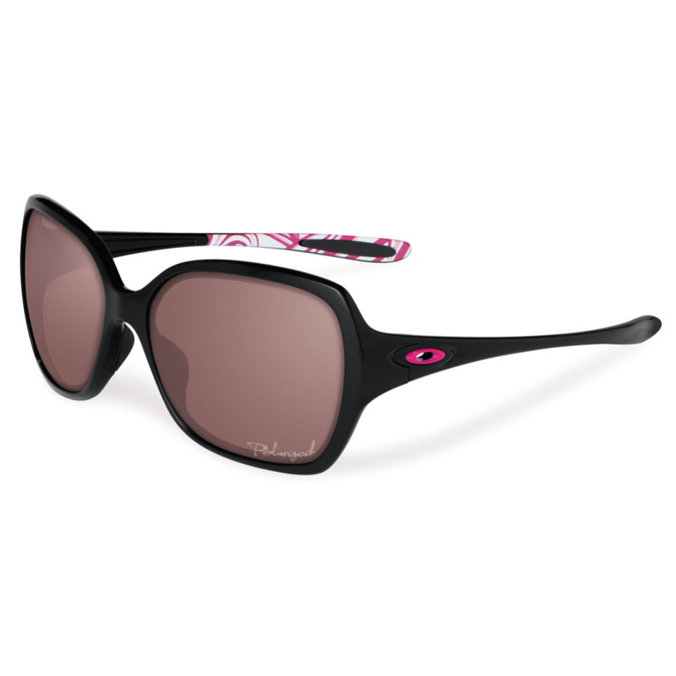 3002ed020c565 Oakley Women s Overtime Polished Polarized Sunglasses - Black ...