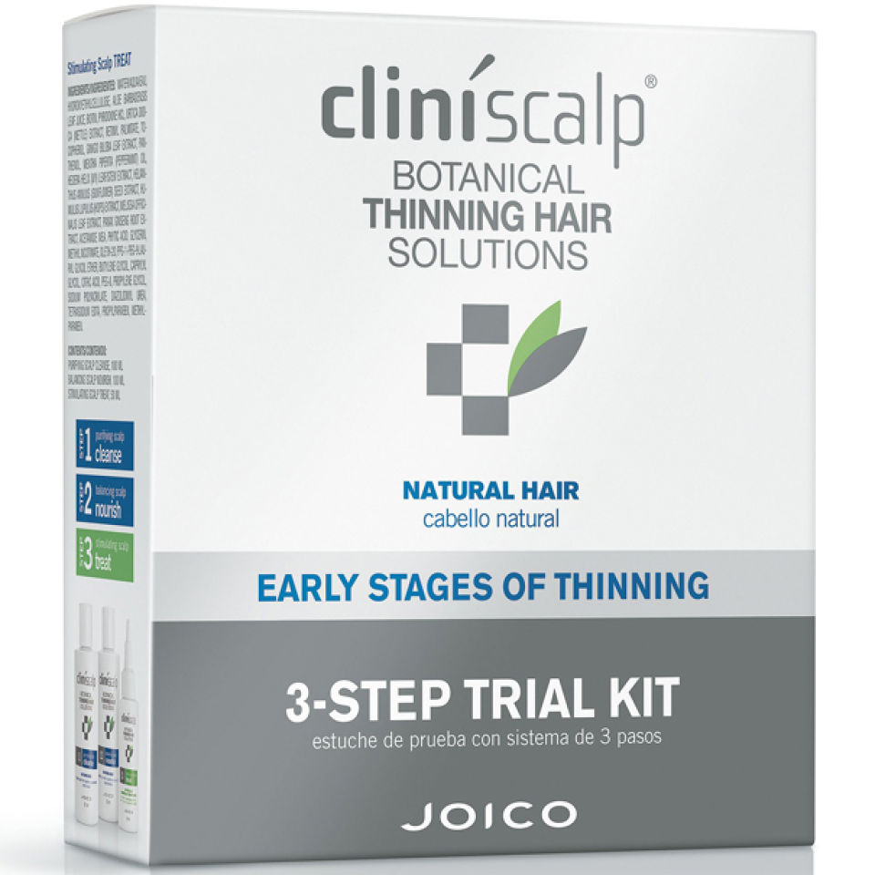 Joico Cliniscalp Trial Pack For Natural Hair Early Stages Beautyexpert Maybelline Volumamp039 Express The Magnum Mascara Black 6 Pcs