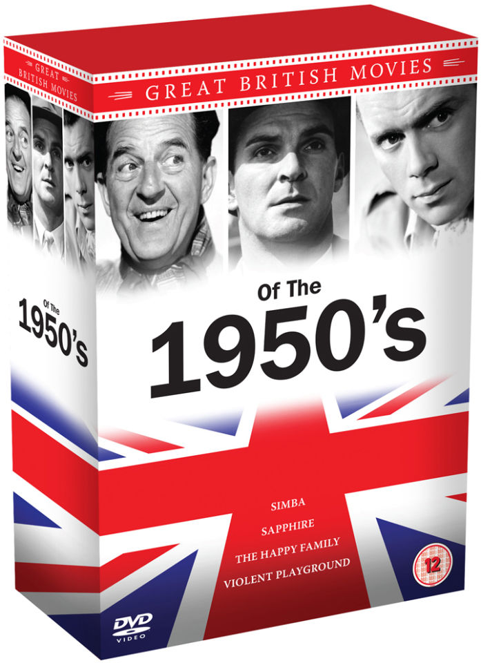 1950's Great British Movies Box Set: Dirk Bogarde, Stanley Baker and Stanley Holloway