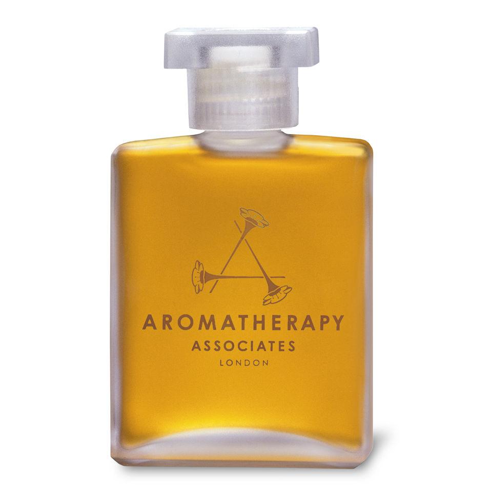 aromatherapy associates deep relax bath shower oil 55ml