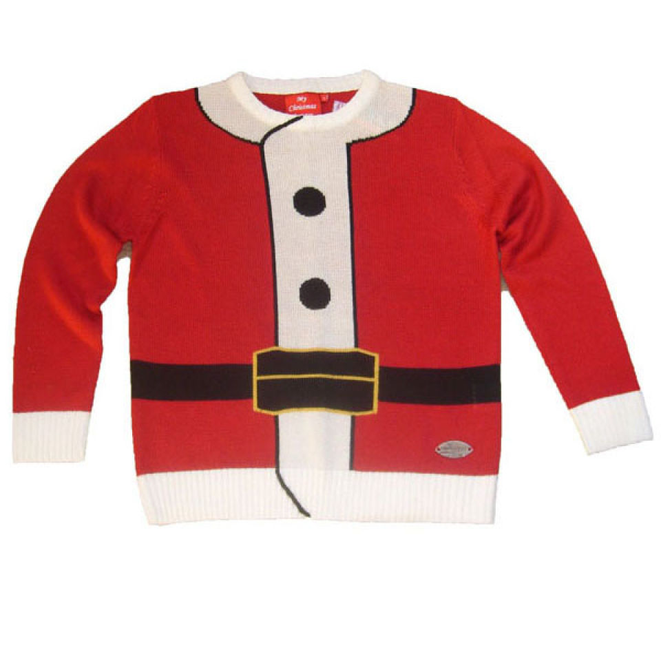Christmas Jumper Unisex Santa Outfit Iwoot