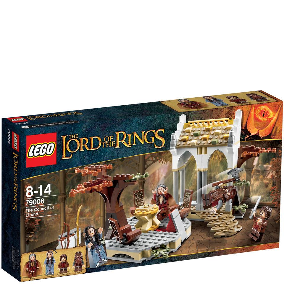 Lego Herr Der Ringe Der Rat Von Elrond 79006