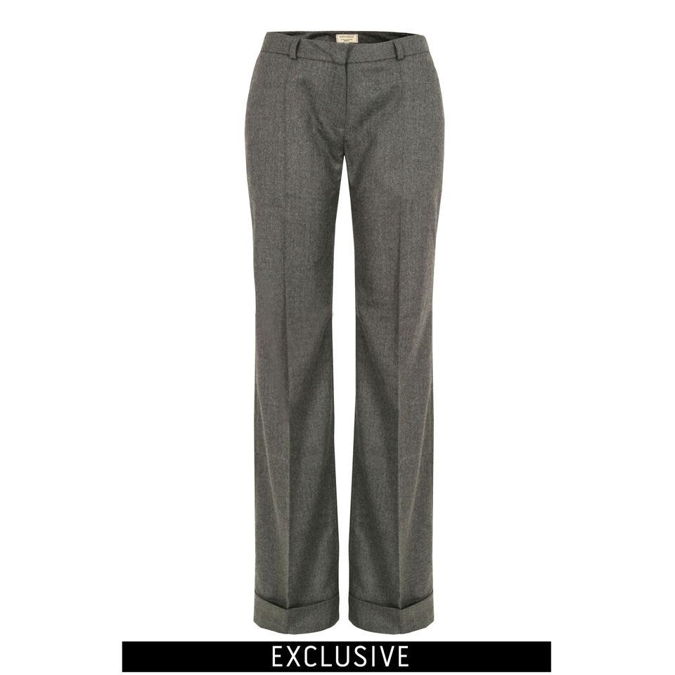 cab199d1f8e Maison Kitsuné Womens Hutton Trousers - Grey Brick - Free UK Delivery over  £50