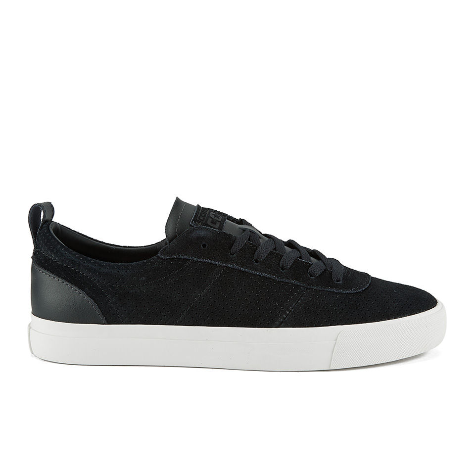 0db0098e350b54 Converse CONS Men's Match Point Suede/Leather Mix Trainers - Black   FREE  UK Delivery   Allsole