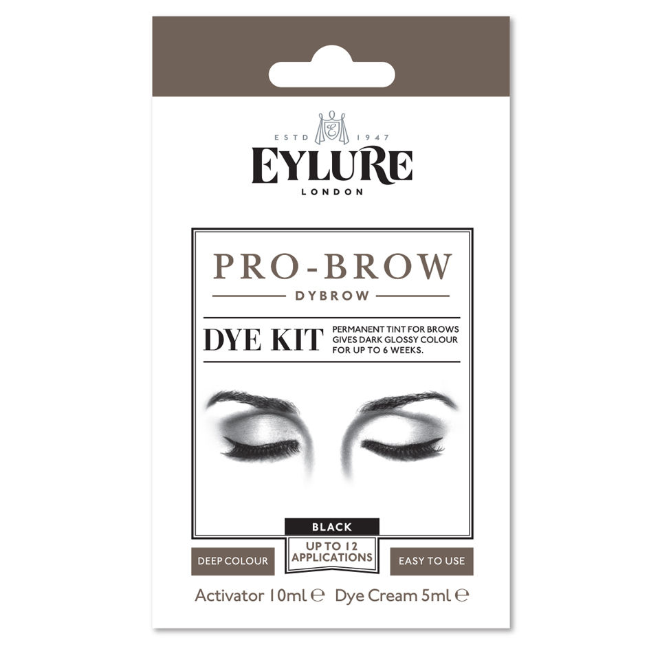 5674d10ab44 Eylure Pro-Brow Dybrow - Black | Free US Shipping | lookfantastic