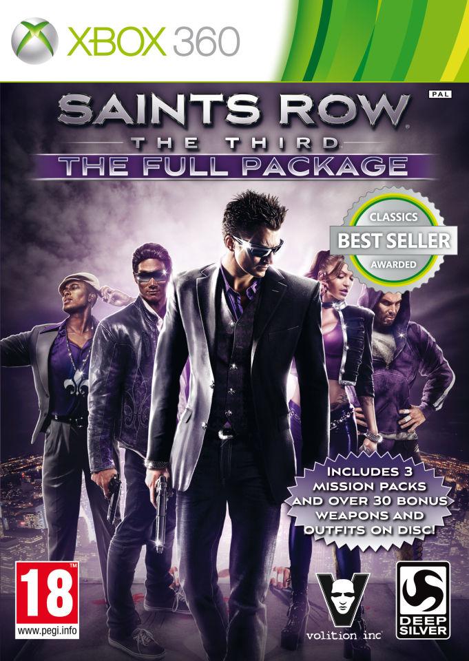 Saints Row The Third Full Package Classics Xbox 360 Zavvi