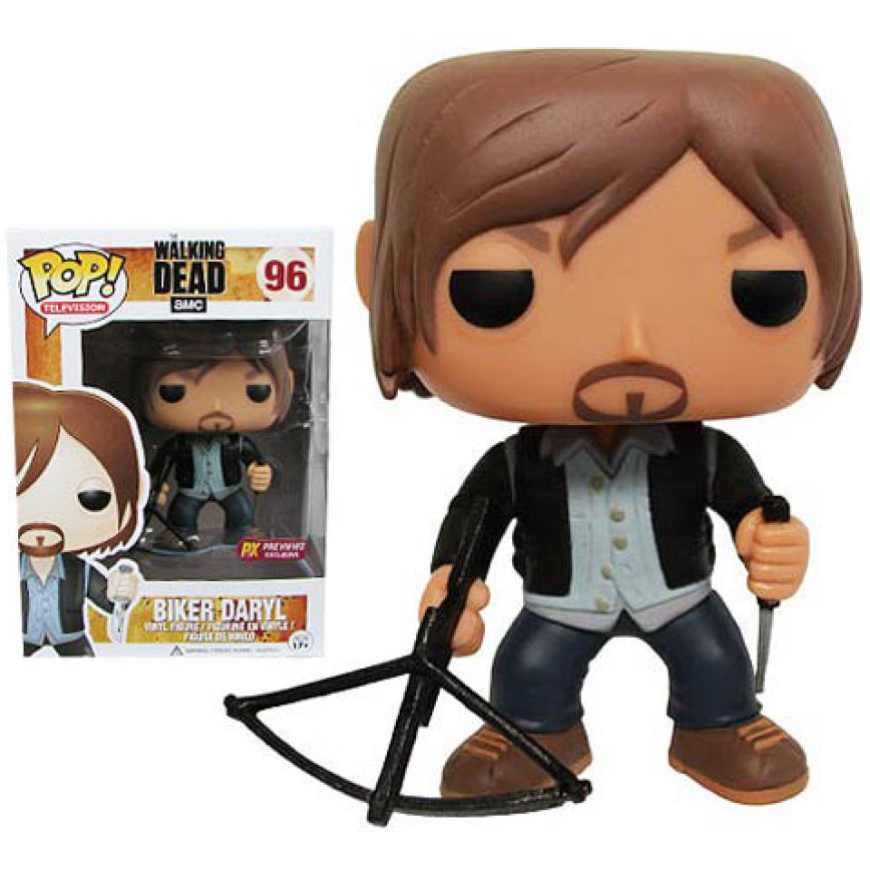 The Walking Dead Biker Daryl Dixon Previews Exclusive Pop! Vinyl Figure