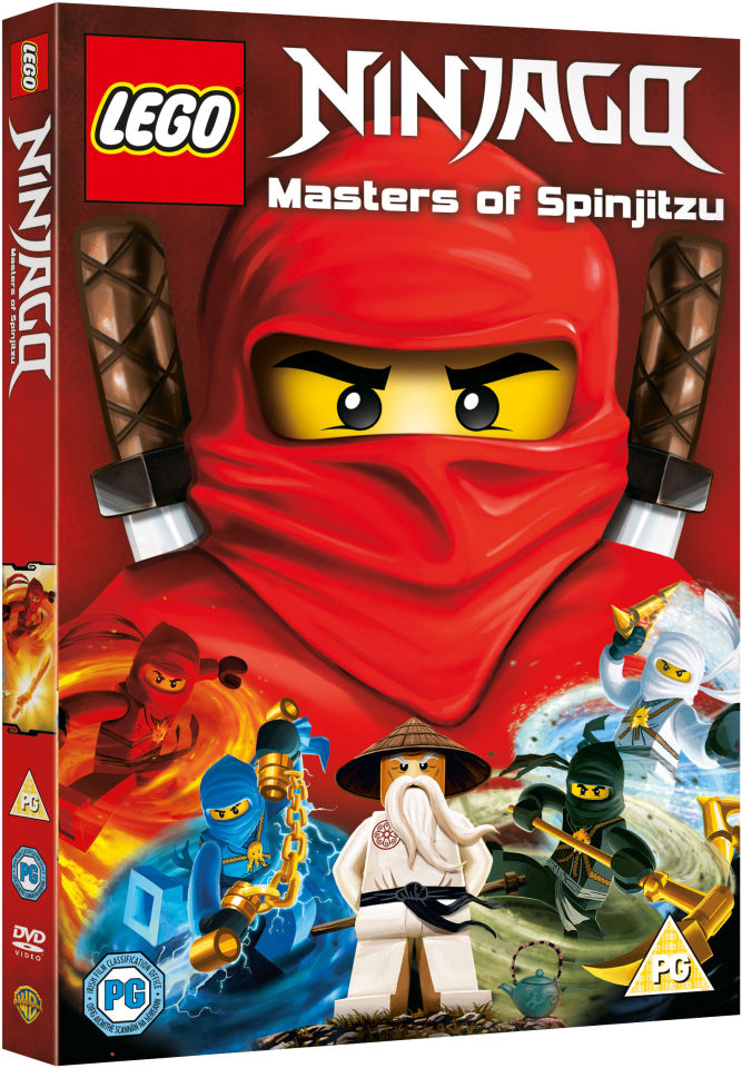 LEGO Ninjago: Masters of Spinjitzu DVD | Zavvi.com