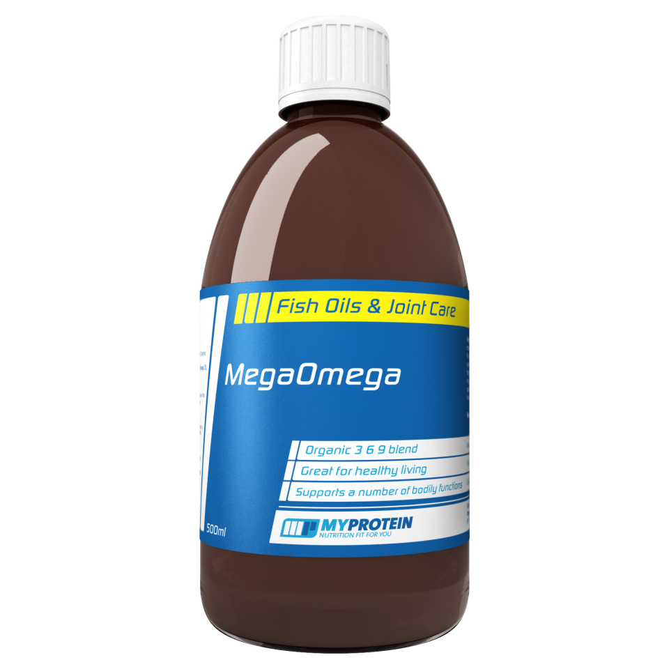 MegaOmega Oil - Unflavoured - 500ml