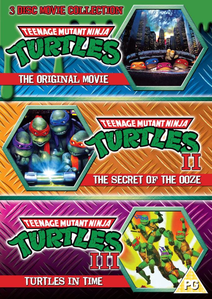 Teenage Mutant Ninja Turtles The Movie Collection Dvd