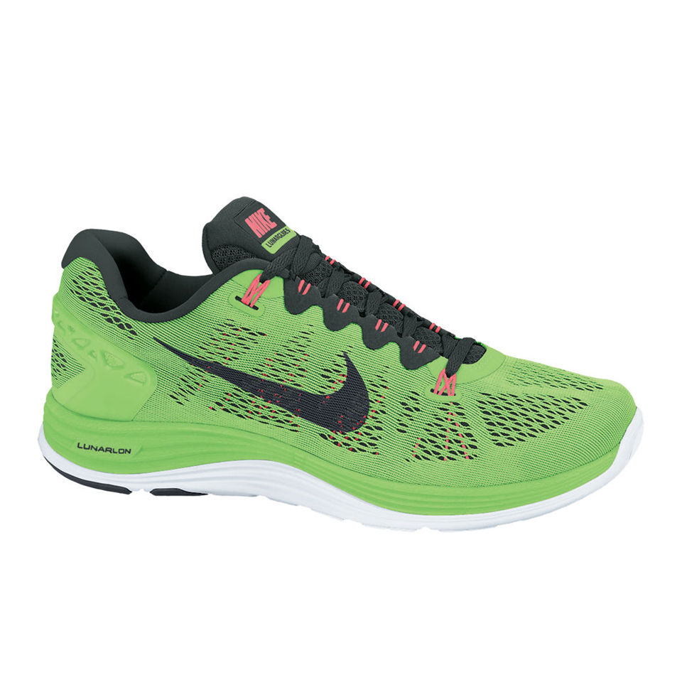 buy online 95658 20d48 Nike Mens Lunarglide +5 - Flash Lime
