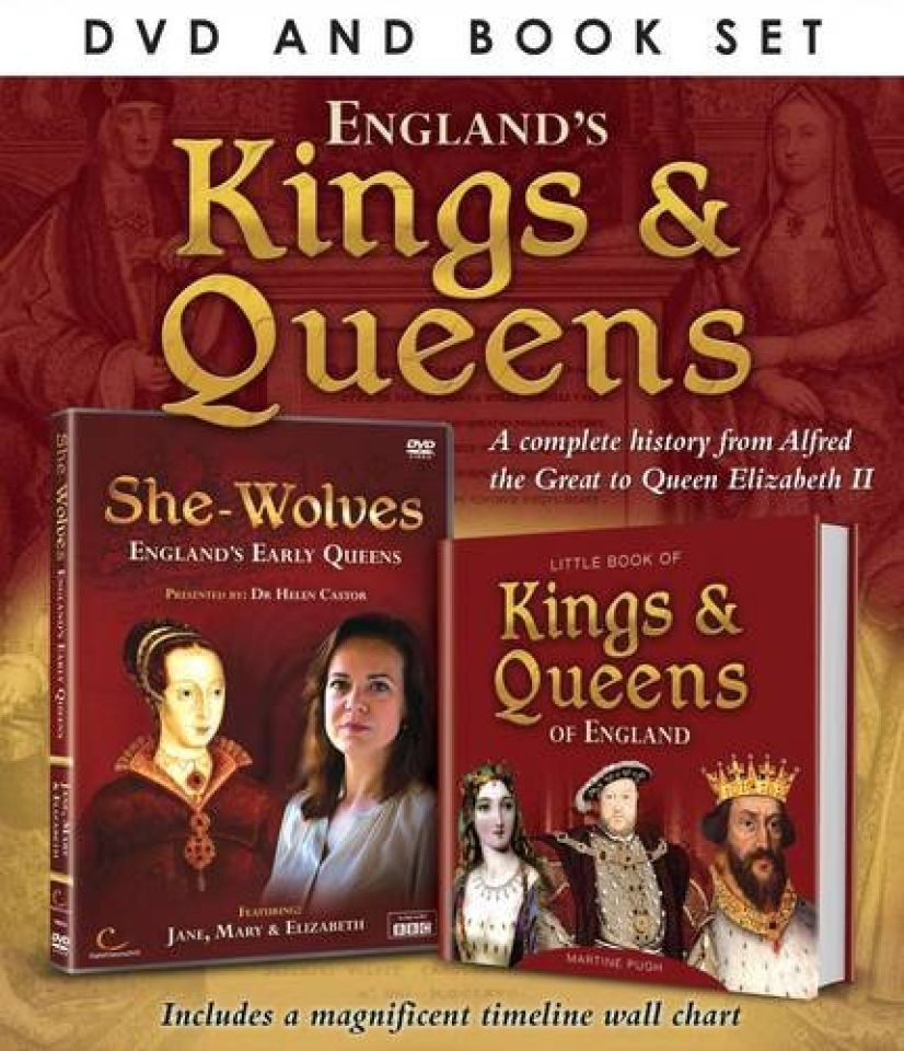 Great British Icons: Kings and Queens (Includes Book)