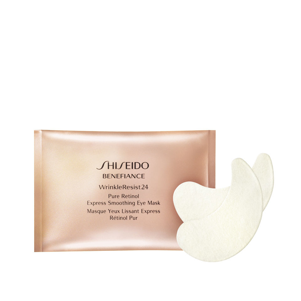 Shiseido Benefiance Pure Retinol Express Smoothing Eye Mask x 12 Sachets