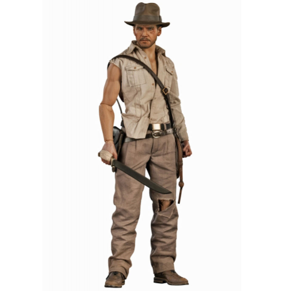 ec4394c55703a Sideshow Collectibles Indiana Jones and the Temple of Doom Indiana Jones  1:6 Scale Figure. Showing image 0 - null