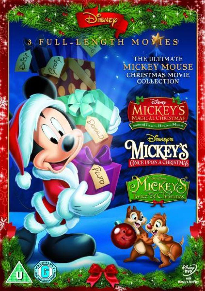 Mickey Mouse Once Upon A Christmas.Mickey Triple Mickey S Magical Christmas Mickey S Once Upon A Christmas