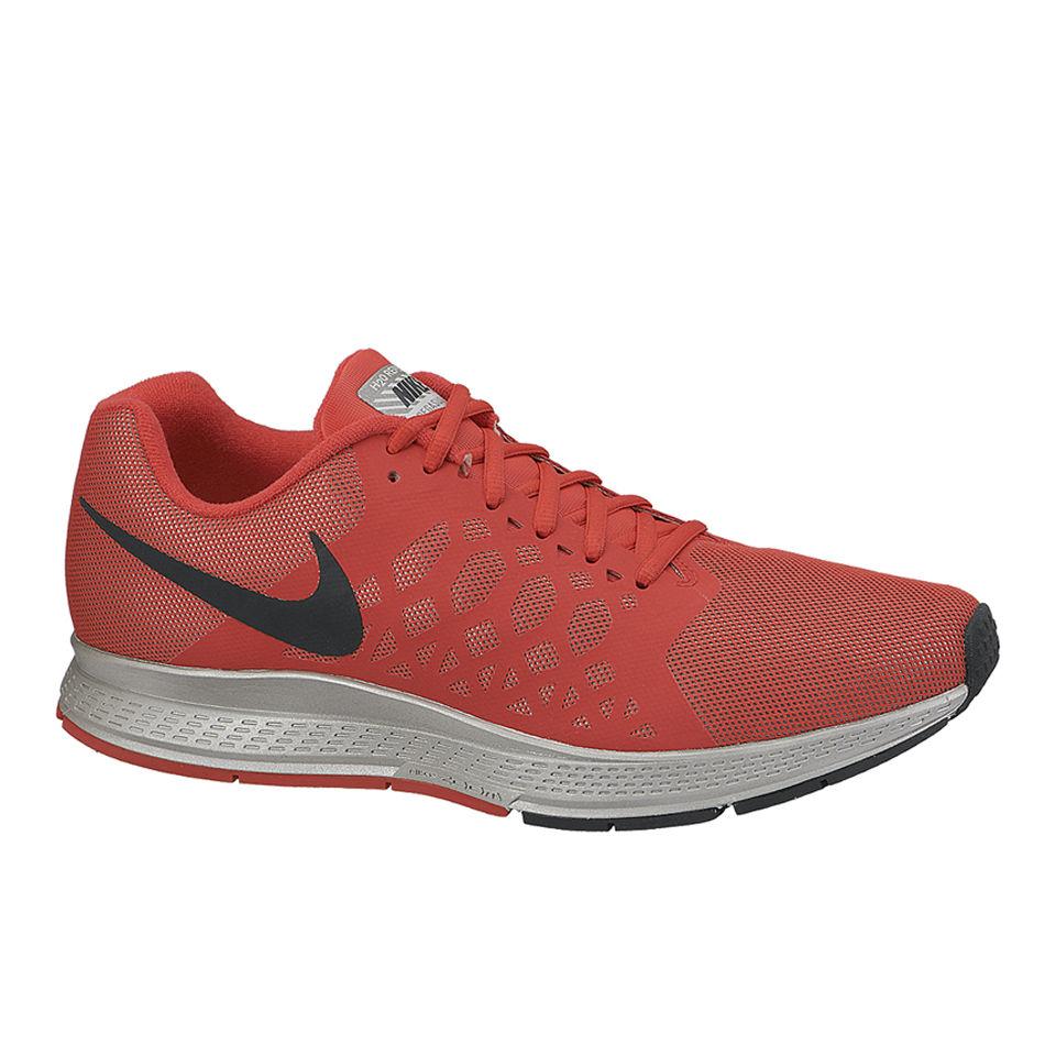 sale retailer b1fae fd3f3 Nike Men s Zoom Pegasus 31 Flash Neutral Running Shoes - Action Red ...