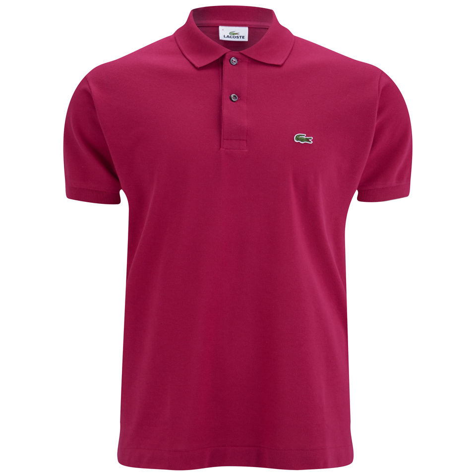 c1fe857e4 Lacoste Men's Polo Shirt - Bright Pink - Free UK Delivery over £50