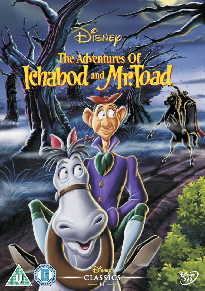 The Adventures Of Ichabod Amp Mr Toad Dvd Zavvi