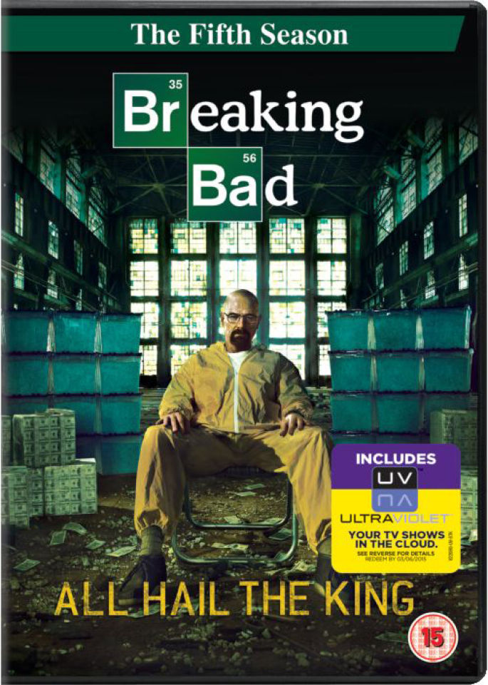 Breaking Bad - Season 5 (Includes UltraViolet Copy) DVD | Zavvi.de