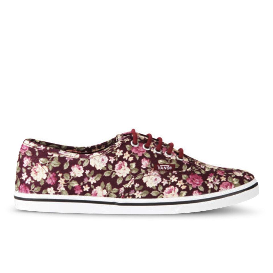 sports shoes 75d70 26b25 Vans Damen Authentic Lo Pro Floral Sneaker - Blumen