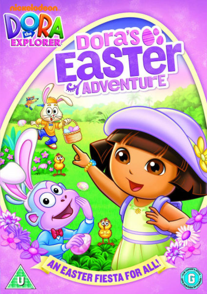 Dora the Explorer Doras Easter Adventure DVD Zavvi