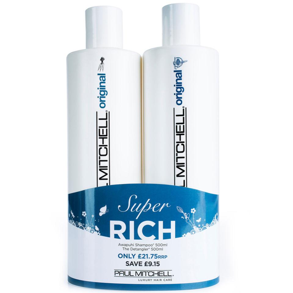 Paul Mitchell Awapuhi Shampoo and Detangler 500ml Duo (Worth £30.90 ... 80e0b52a87