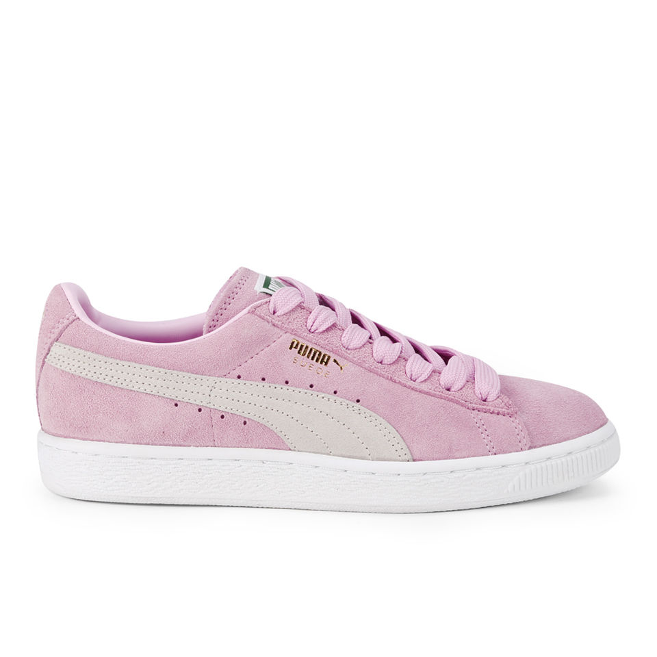 d6295e58 Puma Women's Suede Classics Pastel Trainers - Pink/White