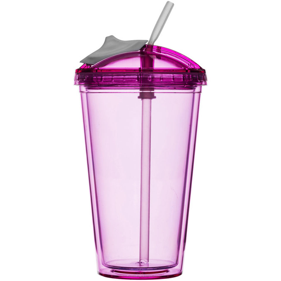 Sagaform Fresh Smoothie Mug - Pink