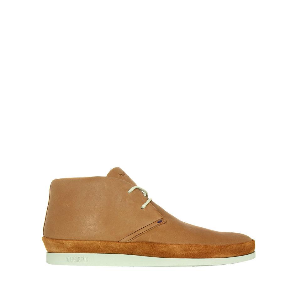 90ddc5b1cfe Paul Smith Shoes Men's Loomis Rich Leather Boots - Cognac