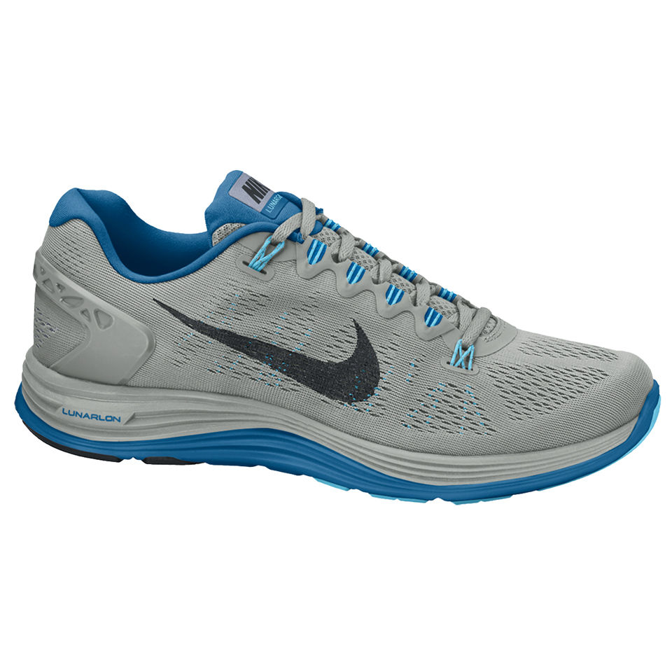 classic fit e8ff0 5ee7a Nike Men s Lunarglide + 5 Running Shoes - Base Grey Sports   Leisure ...