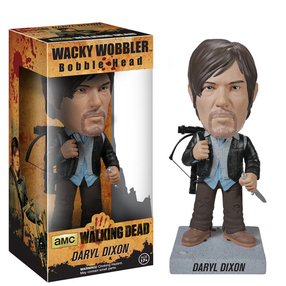 The Walking Dead Biker Daryl Bobblehead
