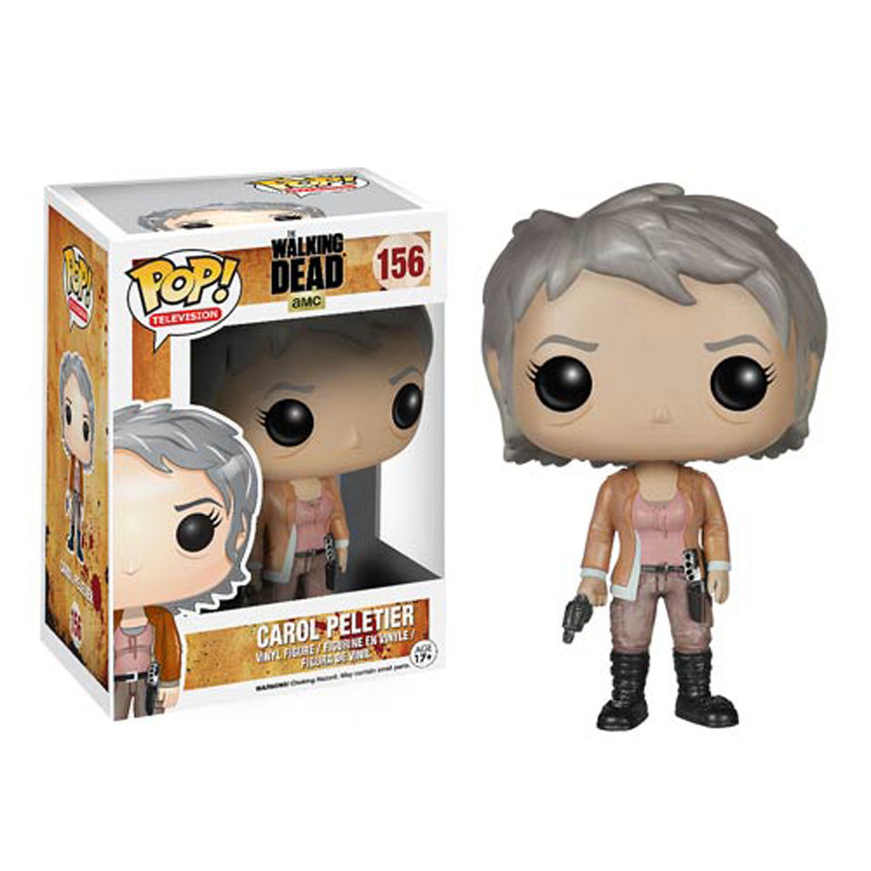 The Walking Dead Carol Peletier Pop! Vinyl Figur