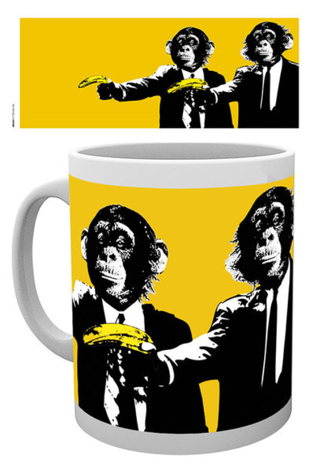 Monkey Monkeys Banana - Mug