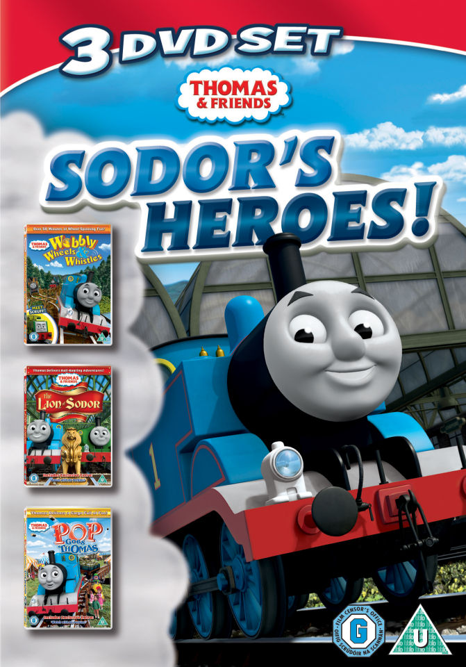 Thomas And Friends Sodors Heroes Dvd Zavvi