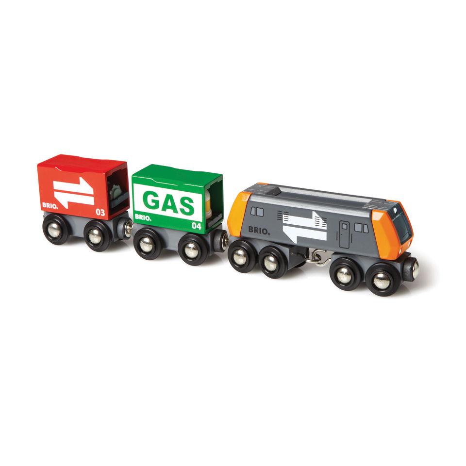 Brio Freight Cargo Train Toys Thehut Com