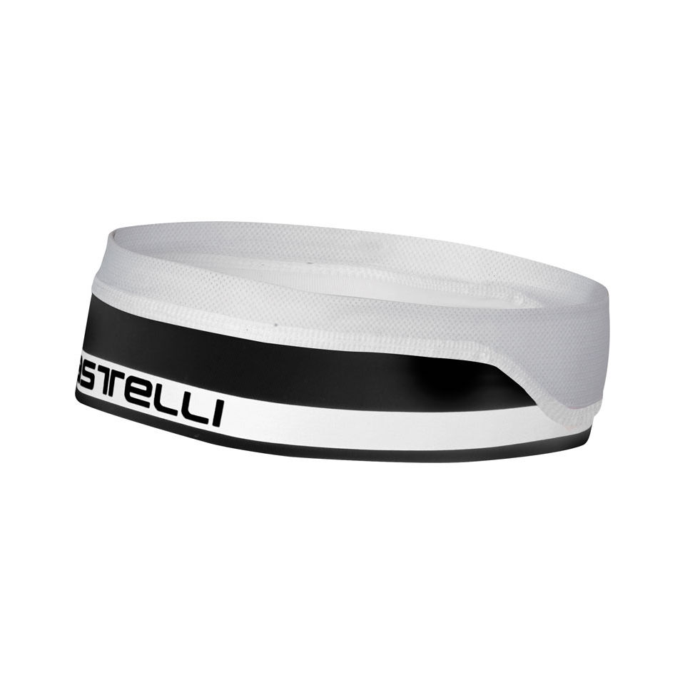 Castelli Summer Cycling Headband Black/White