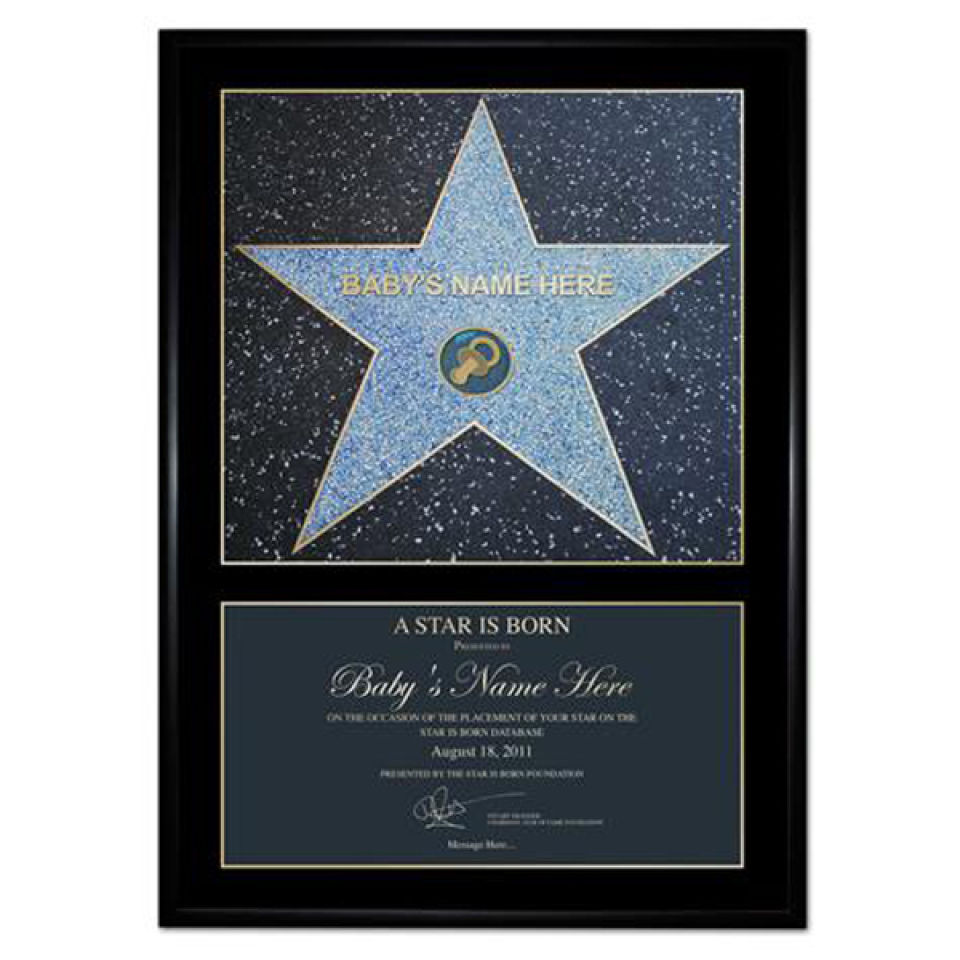 Award Personalised Poster Gift Pack
