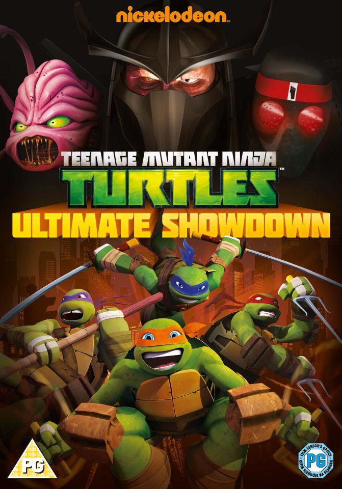 Teenage Mutant Ninja Turtles Ultimate Showdown Dvd Zavvi