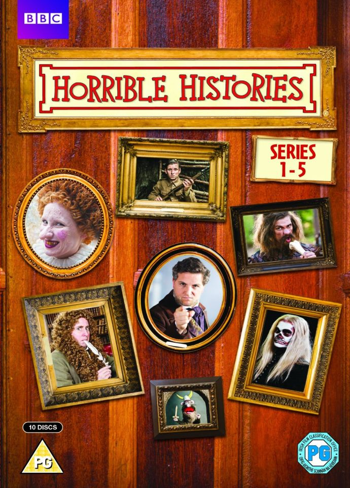 Horrible Histories - Series 1-5