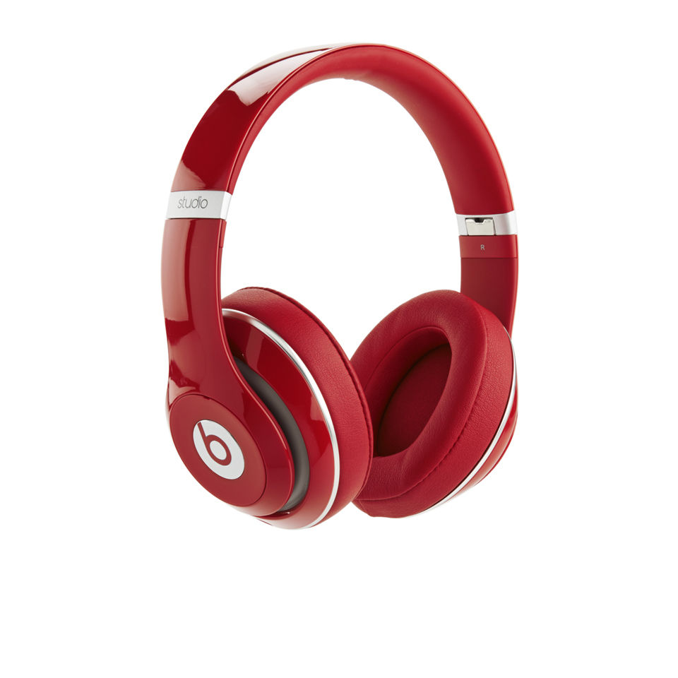 9d9716ef2dc ... Beats By Dr Dre: Studio 2.0 Noise Cancelling Headphones with RemoteTalk  - Red