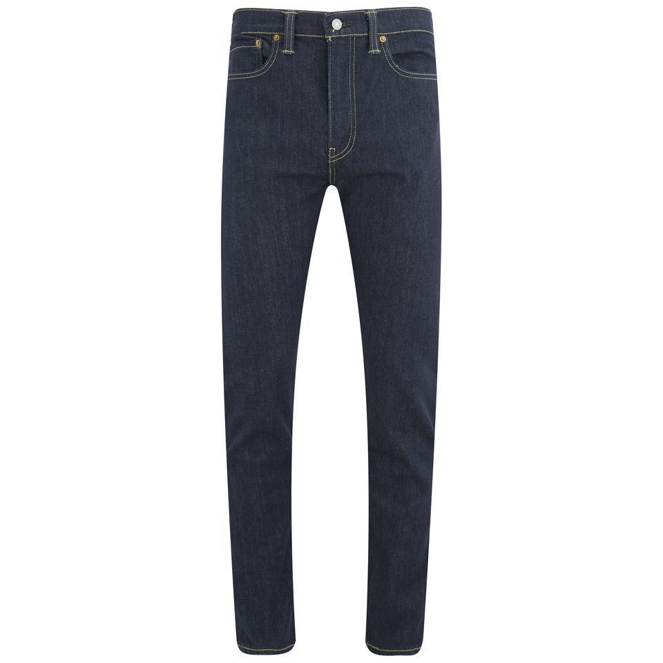 9d564d3076b Levi's Men's 522 Slim Tapered Fit Big Bend Jeans - Dark Blue - Free ...