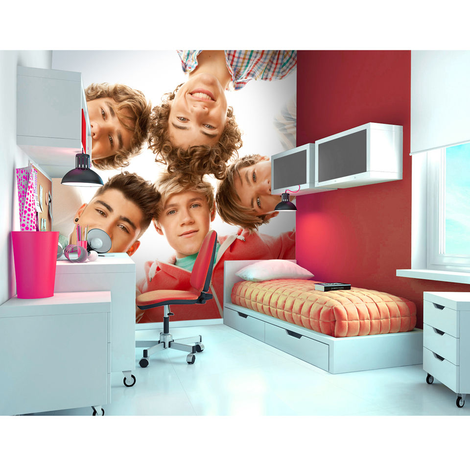 One Direction Circle Wall Mural Iwoot