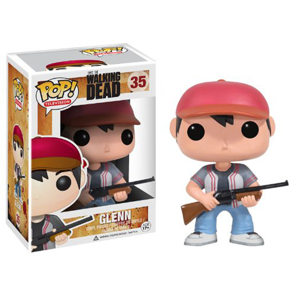 The Walking Dead Glenn Pop! Vinyl Figure