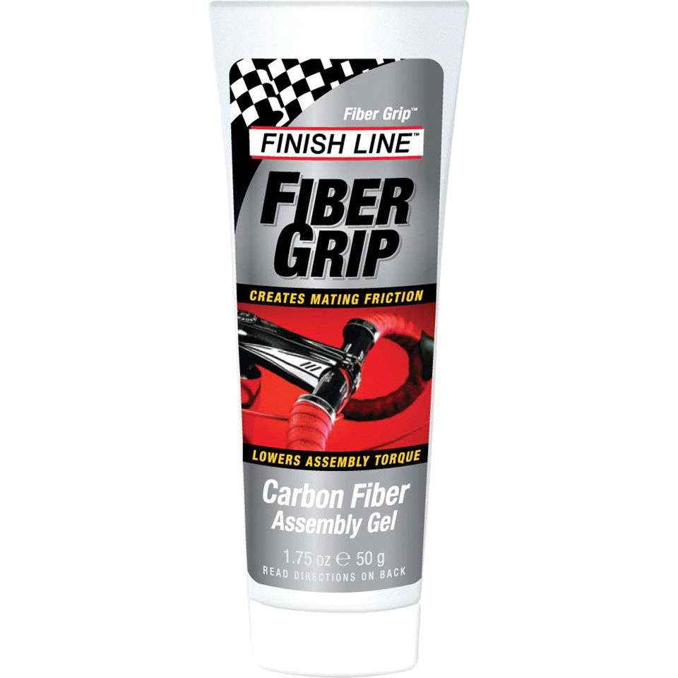 Finish Line Fiber Grip Carbon Fiber Assembly Gel Tube