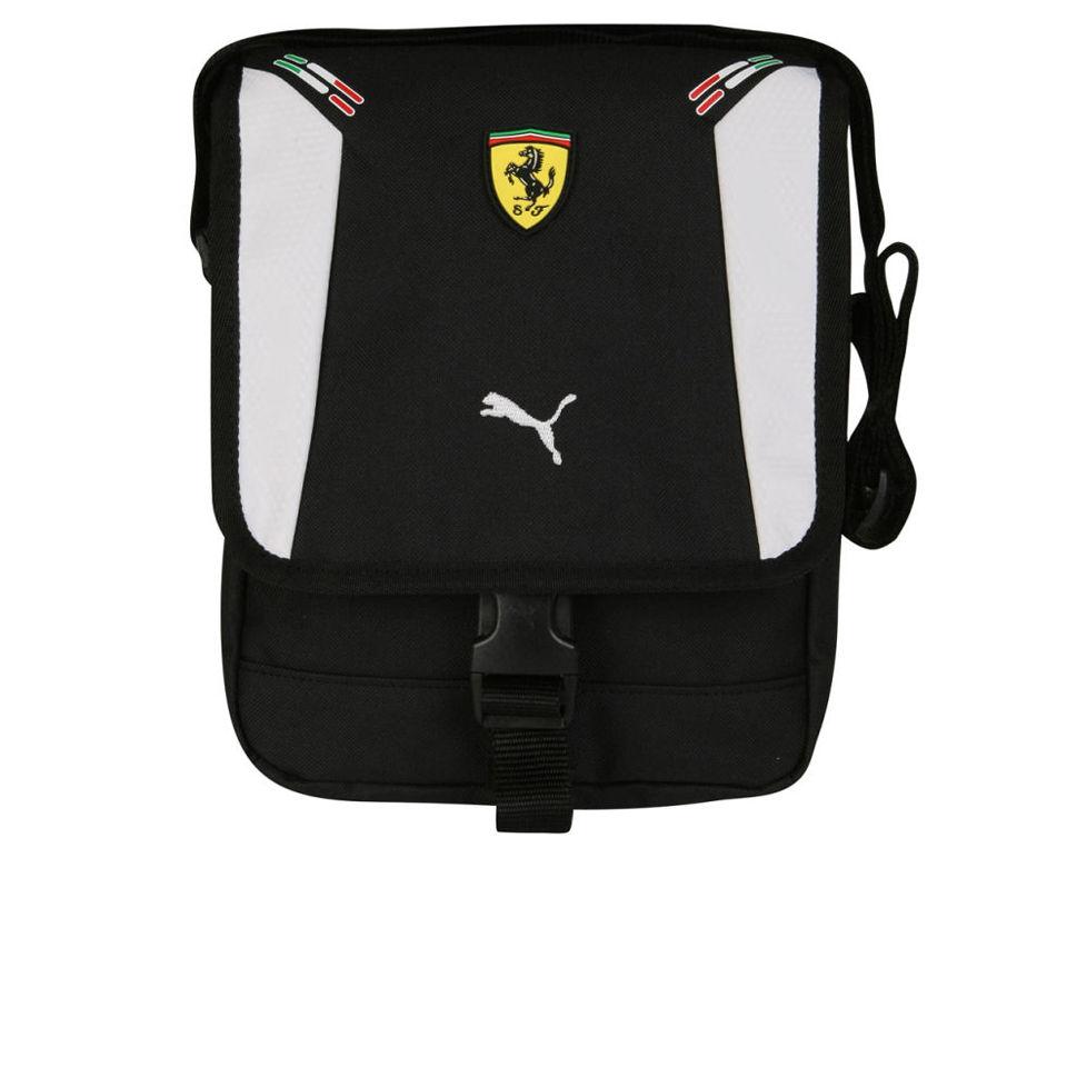 d4645a26a2faed Puma Men's Ferrari Replica Portable Bag - Black/White Mens Accessories    Zavvi Australia