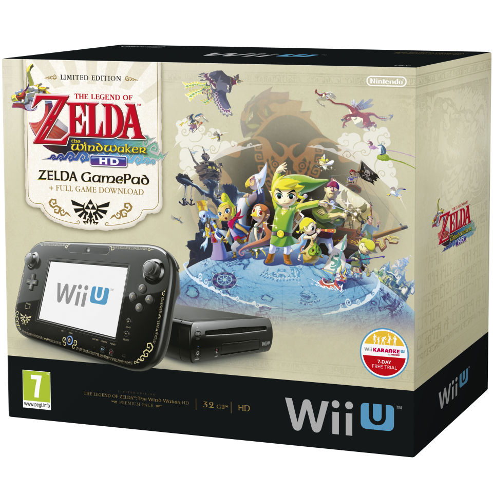 742cdd17900 Wii-U Premium Pack - Includes The Legend of Zelda: Wind Waker HD ...