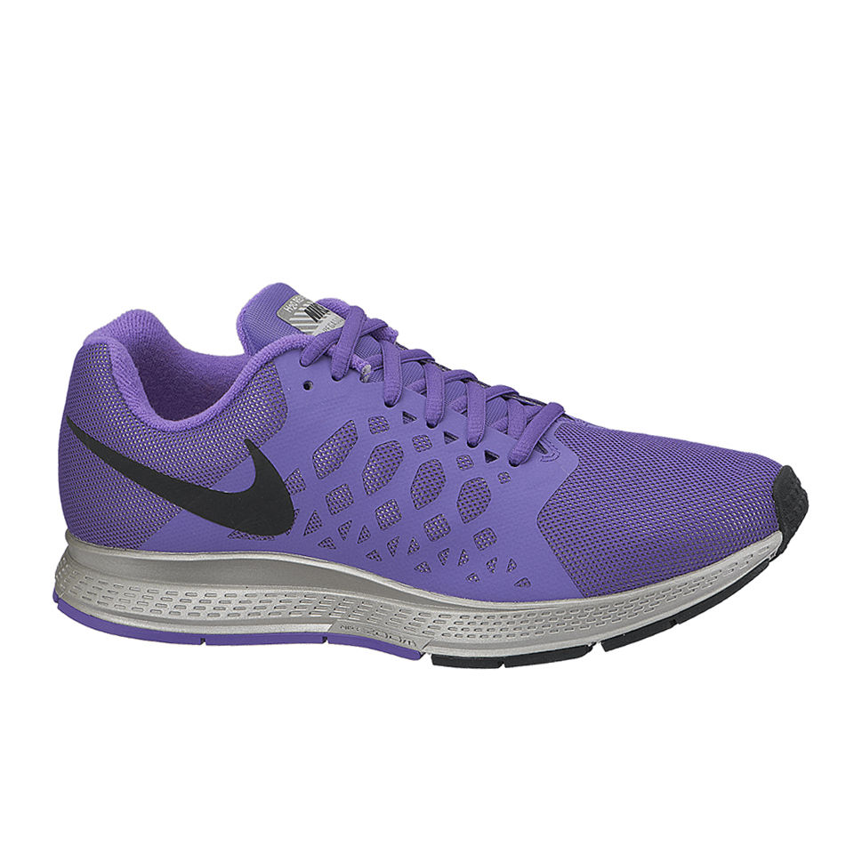 9eadae842b0df Nike Women s Zoom Pegasus 31 Flash Neutral Running Shoes - Action Hyper  Grape Reflective Silver. Description