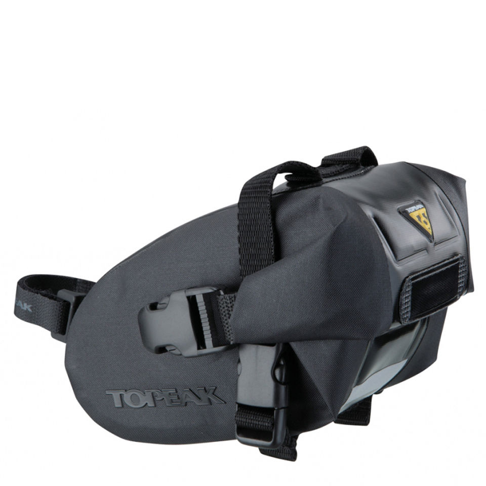 Topeak Wedge Drybag Saddle Bag with Strap - Small | Saddle bags